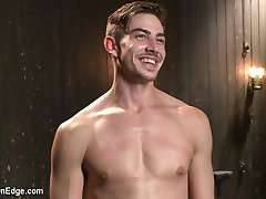 Jack Hunter arrives at the Armory on a brisk autumn day for an audition and photo shoot with...