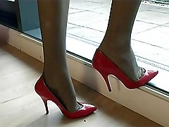 As a shoe fetishist the appreciation of a womans low cut cleavage is essential stimulation,...