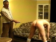 he can see right through her lie. She definitely deserves to be punished. So he pulls her over...