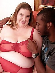 Hot BBW getting some good black loving