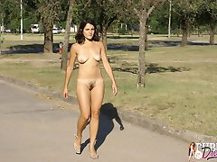 If you love watching sexy girls flashing in public places you will definitely enjoy a nice walk...
