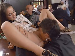 18 year old Anina Silk has Steve Holmes very excited. Aninas firm breasts, perky ass and tight...