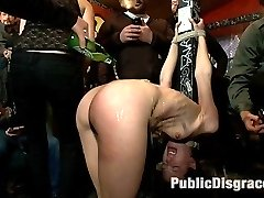 This Public Disgrace shoot is both EPIC and AWESOME! If more humiliation is what you want, more...