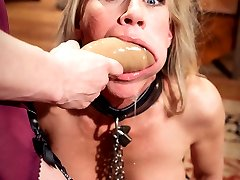 Perverse employment recruiter Maitresse Madeline dominates desperate MILF housewife Simone Sonay...
