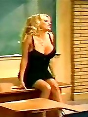 Sacred places of Pamela Anderson body