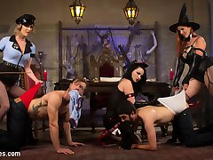 Youre invited to the bitchiest, sexiest, most sadistic Halloween femdom tea party of the season!...