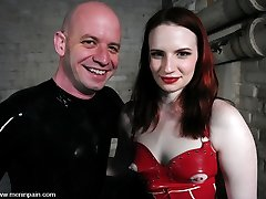 Claire Adams has a new toy named rubberboy. He comes complete with operating manual, full rubber...