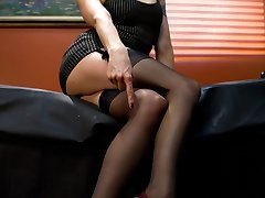 This weeks update is a new style of interactive femdom putting YOU in the hot seat! Have you...
