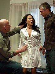 Asa Akira, the sexiest Asian in the adult porn industry, gets intense rough sex, hard bondage...