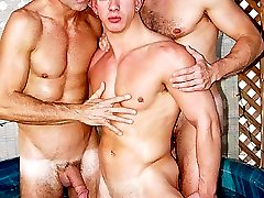 A 17-man bareback orgy! No matter what kind of guy you like, this video has them all muscle...