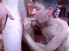 Straight guy explores the butt-hole of his gay homie with his tongue and cock
