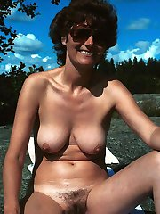 Awesome photos of naked busty women with hair fur pies.