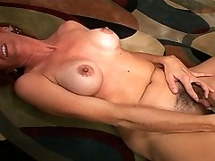 MILF Mikela Gets Her Wooly Poon Licked and Fucked