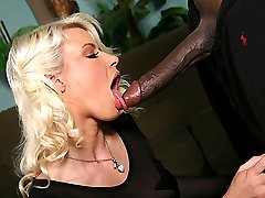Interracial Cock Lover, Annika Albrite GangFucked By Black Cocks at Blacks On Blondes!