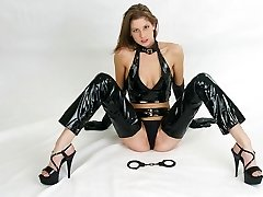 Latex seductress