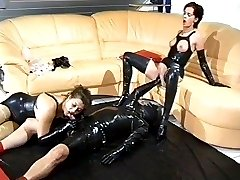 Horny rubbergames with Yvonne II