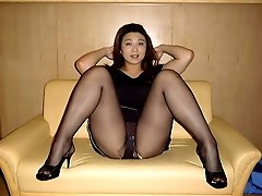 Fantastic girls in sexy pantyhose shots