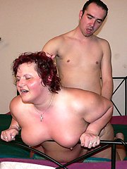 See this chubby mature slut enjoy that hard throbbing cock