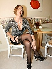 20 Images- My Adorable Wife in Lingerie