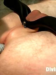 Aiden Starr breaks in adorable newcomer Cliff Adams and shows him the hard way how sometimes...