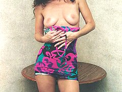 Slender older amateur gets nude for you