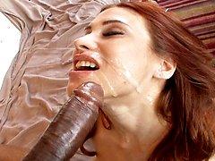 Rosana De La Vega gets fucked by two black cocks in this hardcore video