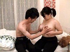 Japanese AV Model serves up big tits and wet JapaneseMatures.com