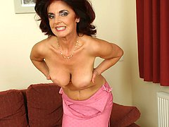watch and old grandma get her loose snatch filled with dick!