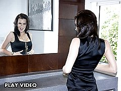 Smoking brunette milf getting her bush slammed in icredible positions, do not miss the 4 clips!!!