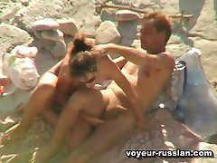 Slim nudist brunette spreadslegs getting eaten then playing with some dick