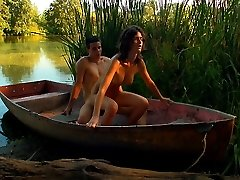 An virginal boat ride, soon turns into a hardcore venture for these two teens. They can`t go more than a brief time before they have to have hook-up and they don`t care where they do it!