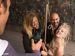 Mona Wales has found another loose slut that wants to be publicly humiliated. This weeks...