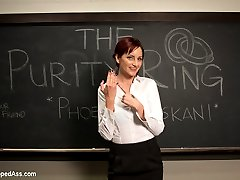 Welcome Phoenix Askani to Whipped Ass! Phoenix enjoys lesbian BDSM and plays a pre med student...