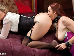 Whipped Ass takes you back to the full service dungeon that employes buxom beauty Bella Rossi....