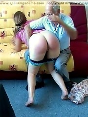 A sports lesson turning into a corporal punishment nightmare for these 2 girls