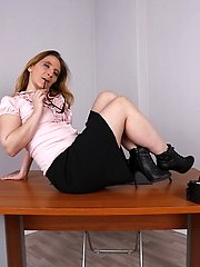This naughty German housewife loves to play alone
