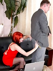 Freaky chick ripping apart guys ass putting in action her huge strap-on