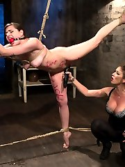Missy Minx, Felony and Maitresse Madeline have explosive chemistry in this kinky tale about a...