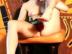 Lingerie girl craving for sex fun