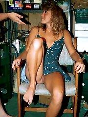Wet virgin nude with scene