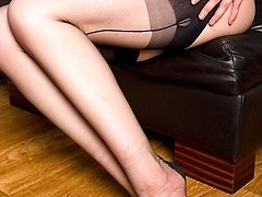 No nudiity version!  A highly passionate Nikita heads to good lengths to show you how vintage (fully fashioned) nylons make her crazy...