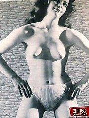 Several nude vintage ladies