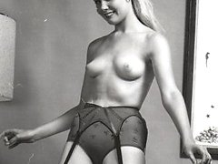 Horny vintage collection with seducing gadgets