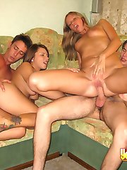 Two hot chicks are fucked