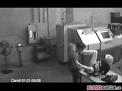 Chick busted on cam while getting naughty