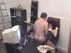 Naked mistresses make guy feel the hardest pain