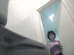 Naughty mamas pissing straight onto voyeur camera