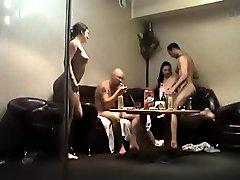 Voyeur movies of fuckfull sauna party