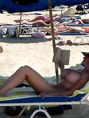 Naked On The Beach! Gallery 72