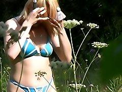 Outdoor voyeur clips of unsuspecting people